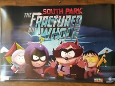 """South Park The Fractured but Whole 2 Sided Poster Wall Decor 24""""X36"""" Bran New"""