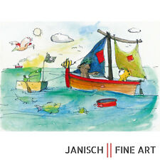 """JANOSCH - """"Wie heißt du und wo kommst du her?"""", handsigniert, Auflage 99, 2013 !"""