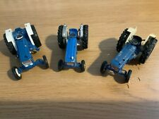 3 BRITAINS FORD TRACTORS