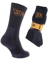 3 Mens JCB Cotton Blend HEAVY DUTY Safety Work Boot Socks UK 6-11