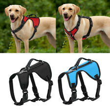 Medium Large Dog Harness Non Pull Reflective Adjustable Quick Fit Vest Pit Bull
