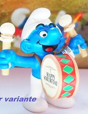 20707 Schtroumpf party tambour smurf pitufo puffo puffi schtroumpfette rarissime