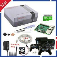NEW Retroflag NESPI CASE+ Plus Kit With Wireless Gamepad For Raspberry Pi 3/2/B+