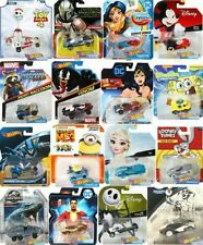 Hot Wheels Character Cars Disney Marvel Star Wars DC & More *Updated 4/28/21*