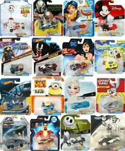 Hot Wheels Character Cars Disney Marvel Star Wars DC & More *Updated 9/14/21*