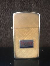 Vintage Impact Frosty Rootbeer 14KT Gold Plated Made IN U.S.A. Lighter A31