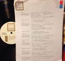RADIO SHOW: 8/24/89 BREAK UP! GARY LEWIS, ROY ORBISON, CAROLE KING, BUDDY HOLLY