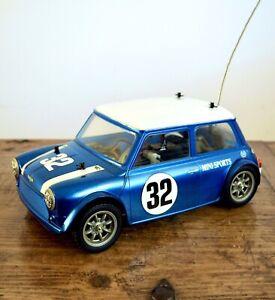 Tamiya Mini Cooper M03 Chassis Vintage Tamiya Rc Car + Battery + Charger  + Box