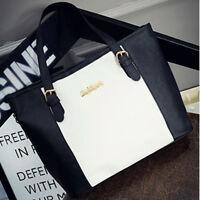 New Womens Ladies Designer Leather Style Tote Bag Shoulder Handbag Shopper large