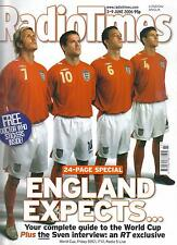 Radio Times 3rd - 9th June 2006 World Cup, Doctor Who feature, Paul Simon,