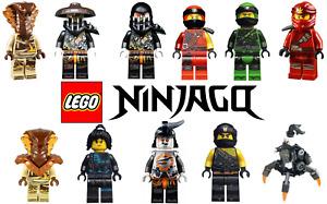 Lego Ninjago Minifigs-You Pick Lot Bulk Size-NEW Only-$4 Flat Shipping