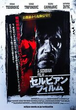A Serbian Film 2010 Srpski Mini Movie Poster Chirashi B5 Japanese Horror Japan