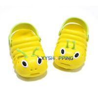 Toddler Kids Boys Girls Slip On Summer Sandals Flat Casual Clogs Shoes Slippers