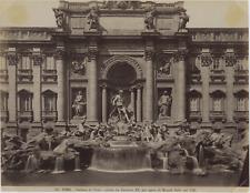 Italie, Roma, Fontana di Trevi Vintage print.  Photomécanique  18x24  Circ