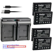 Kastar Battery Dual Charger for Kodak KLIC-5000 & Kodak EasyShare LS753 Camera