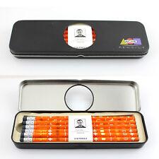 """Vintage ACME Karim Rashid """"Orange"""" Pencils 12 Pack UNUSED"""