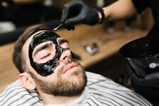 Black Mask Peel Off Face Mask Unisex Big Barber Shop Size With Easy Pump 150ml