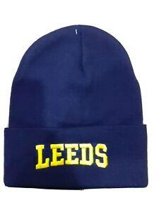 Leeds Word Bronx Hat - Navy for Leeds United Fans