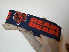Chicago Bears 2 Inch Custom Made Martingale Dog Collar
