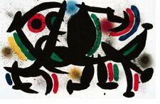 Original Lithograph #8 By Joan Miro - 2 prints