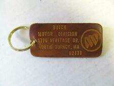 1960-1970s Buick Vintage Leather Key Chain Fob Skylark GS Lesabre Electra NOS