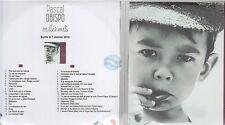 PASCAL OBISPO millésimes CD PROMO 2cd duos johnny hallyday calogero pagny zazie
