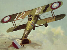 "Model Airplane Plans (UC): Sterling NIEUPORT 28 33"" Stunt/Scale for B-C Engines"