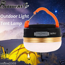 Rechargeable 300LM CREE LED USB Camping Outdoor Light Lantern Tent Lamp 6hrs