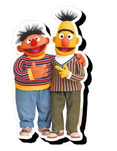 Bert and Ernie Chunky Fridge Magnet Licensed. (nm)
