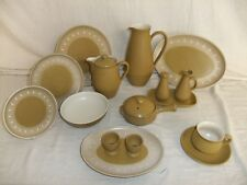 C4 Pottery Denby Stoneware - Ode - plates, bowls, cups & saucers, jugs 1A2F