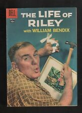 """1958 1st ISSUE """" THE LIFE OF RILEY """" DELL   COMIC BOOK  ORIGINAL ! HIGHER-GRADE"""
