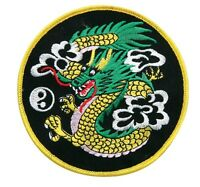 "Dragon Ying Yang Martial Arts Patch - 4"" P1147A"