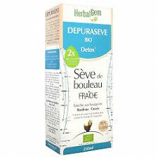 Herbalgem Depuraseve Bio Detox Sève de Bouleau 250ml