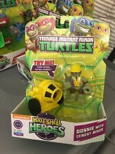 teenage mutant ninja turtles Half Shell Heroes Donnie With Cement Mixer Playmate