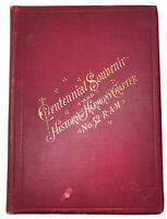 1894, 1st, CENTENNIAL HISTORY HARMONY CHAPTER 52, FREEMASONRY, PHILADELPHIA, PA