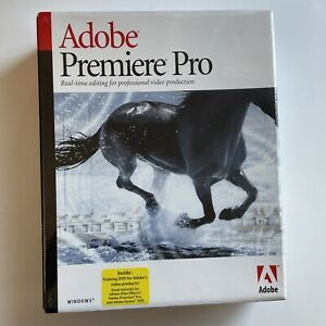 Adobe Premiere Pro Windows FACTORY SEALED