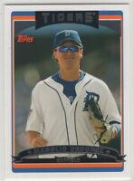 2006 Topps Baseball Detroit Tigers Team Set