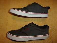 VANS Gray SHOES YOUTH'S SIZE: 6 1/2