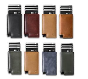 Ekster Parliament 3.0 Wallet Slim Leather RFID Blocking Men's Black Brown Blue
