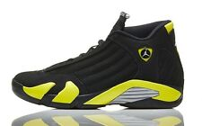 check out 41396 94f97 Nike Air Jordan 14 XIV Thunder size 13. Black Yellow. 487471-070
