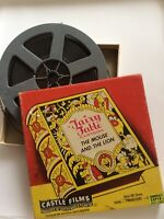 Fairy Table Cartoon Mouse And Lion Castle Films 8mm Or 16mm Sound Projector Film