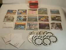 ☆ Lot Of Vintage Viewmaster Reels And Viewmaster Viewer TV SHOWS LANDSCAPE & MIX