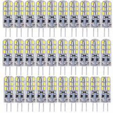 30x G4 24SMD3014 1,5W LED Lampe Leuchte Stecklampe Stiftsockel Kaltweiß DC12V
