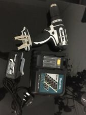 Makita 18v BHP452 Black & White Combi Drill Plus 3A Battery and Charger