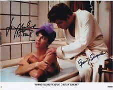 JACQUELINE BISSET & GEORGE SEGAL signed autographed TOO MANY CHEFS photo
