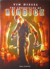 Chronicles of Riddick (DVD, 2004, Full Frame)