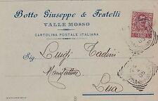 # VALLE MOSSO: testatina- BOTTO GIUSEPPE E FRATELLI - 1905