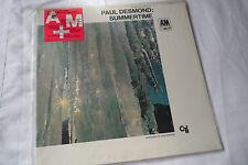 Paul Desmond_Sealed_Summertime Lp_A&M_Quiex Virgin Vinyl_Ex+