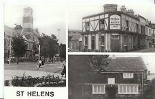 Lancashire Postcard - Views of St Helens, Merseyside - Prince of Wales Pub U840