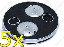 5x LED Lenser Space Lite Blue Light Key Ring with Light Lamp UFO Lamp